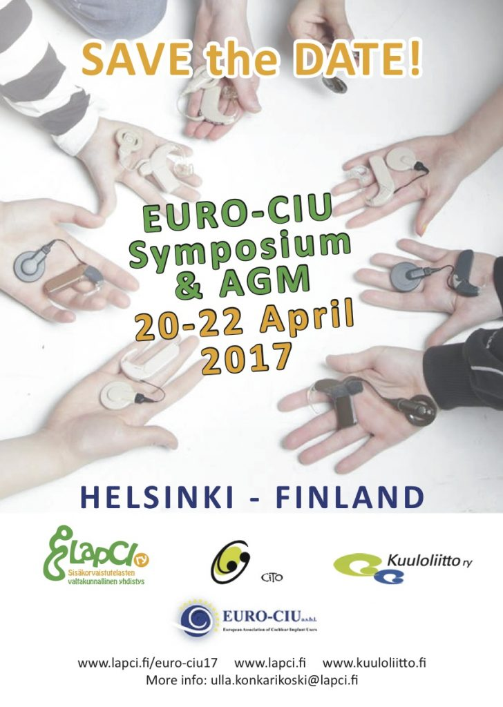 11th EURO-CIU Symposium and General Assembly in Finland, April 2017